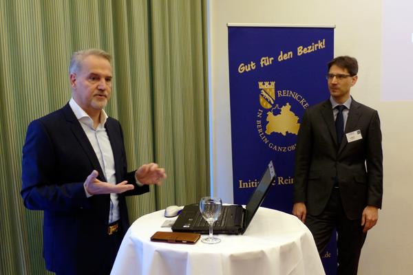 Ralf Zürn stellt die Bezirkskampagne Reinickendorf 2017 vor
