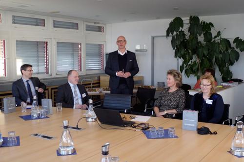 Gesobau-Vorstandsvorsitzender Jörg Franzen lieferte eine beeindruckende Bestandsaufnahme seines Unternehmens.