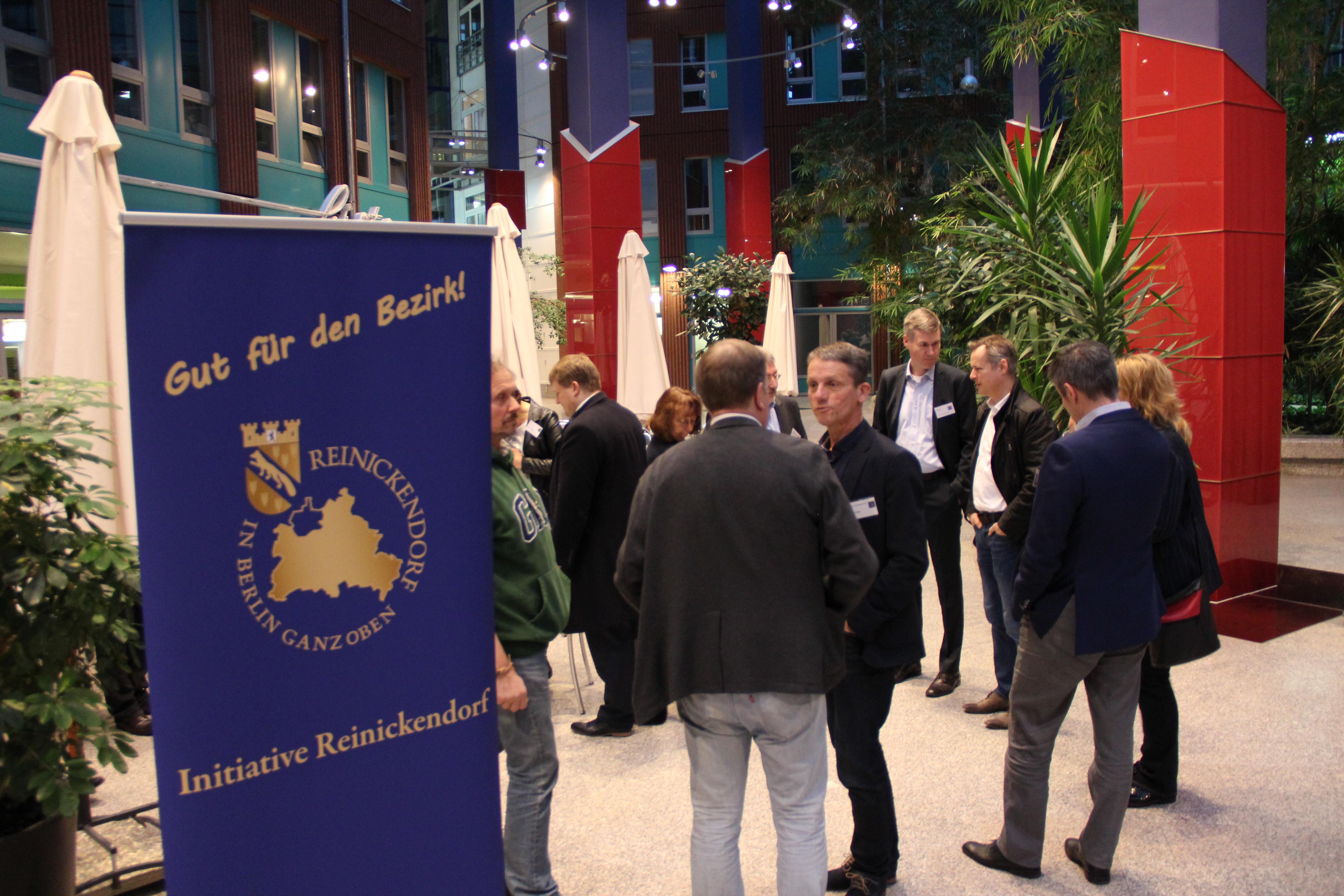 1. Reinickendorfer Unternehmerfrühstück: Neues aus dem Bezirk und von der Sparkasse