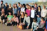 November 2011: Thomas-Mann-Oberschüler danken für Unterstützung ihrer Frankreich-Fahrt