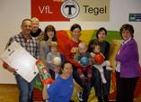 11. April 2013: Rollbretter und Schwungtuch für den VfL Tegel