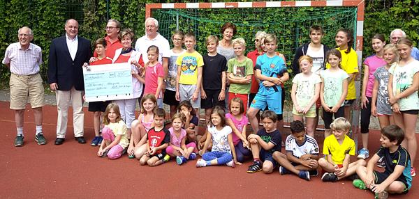 VfB Hermsdorf sagt Danke – Initiative Reinickendorf unterstützte Ferienspiele
