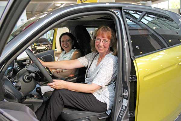 Business-Speeddating: Klasse Autos, super Gespräche, rasante Entwicklungen