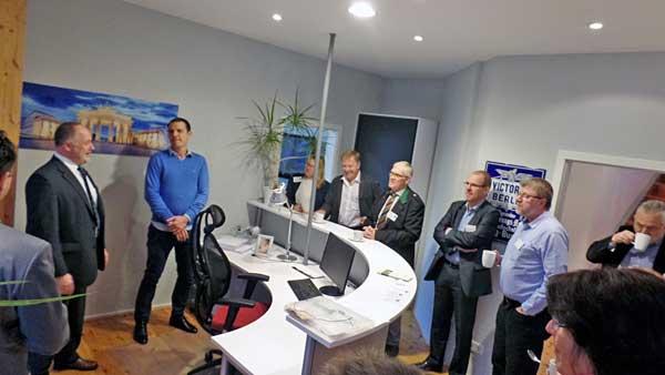 4. Reinickendorfer Unternehmer-Frühstück: Roter Teppich für die Initiative Reinickendorf