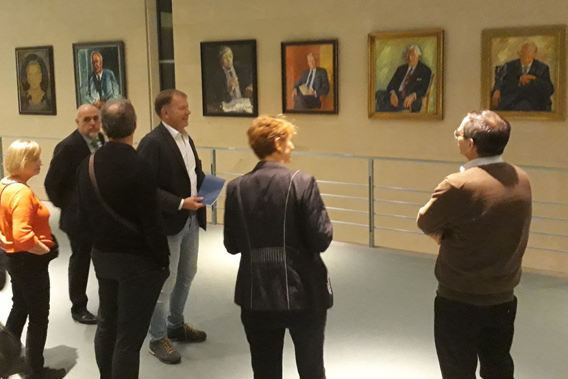 8. November: Besuch im Bundeskanzleramt