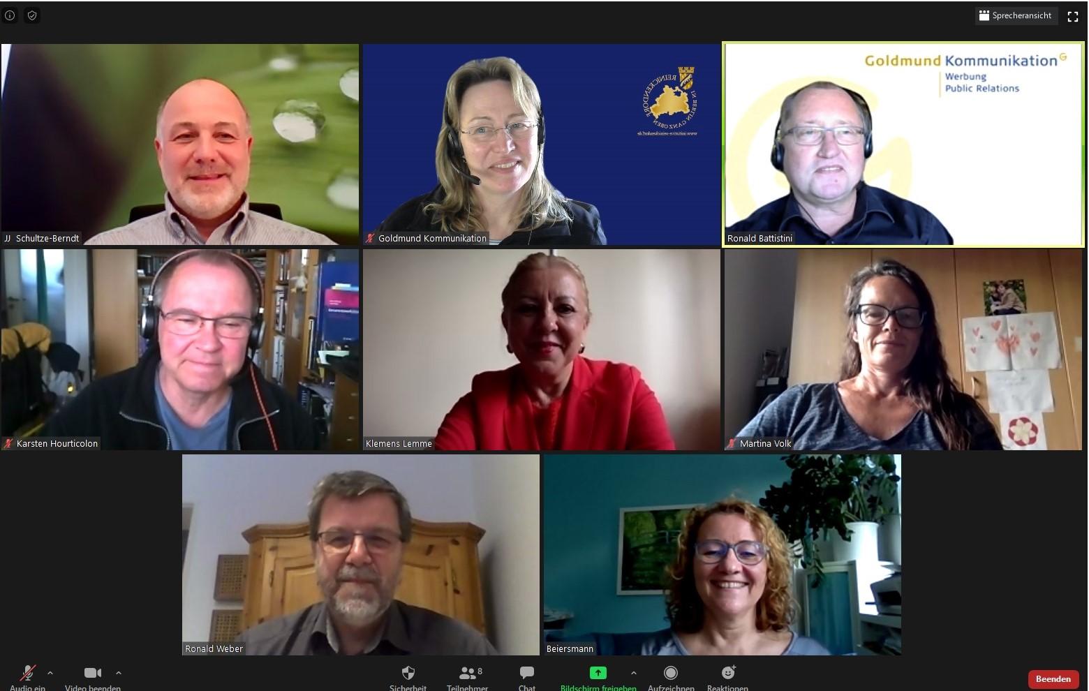 14. Mai 2020: Jour fixe online: Rettung und Förderung von Unternehmen und Selbstständigen