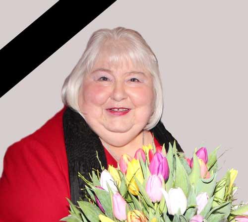 Irina Wotschke † 1.6.2020