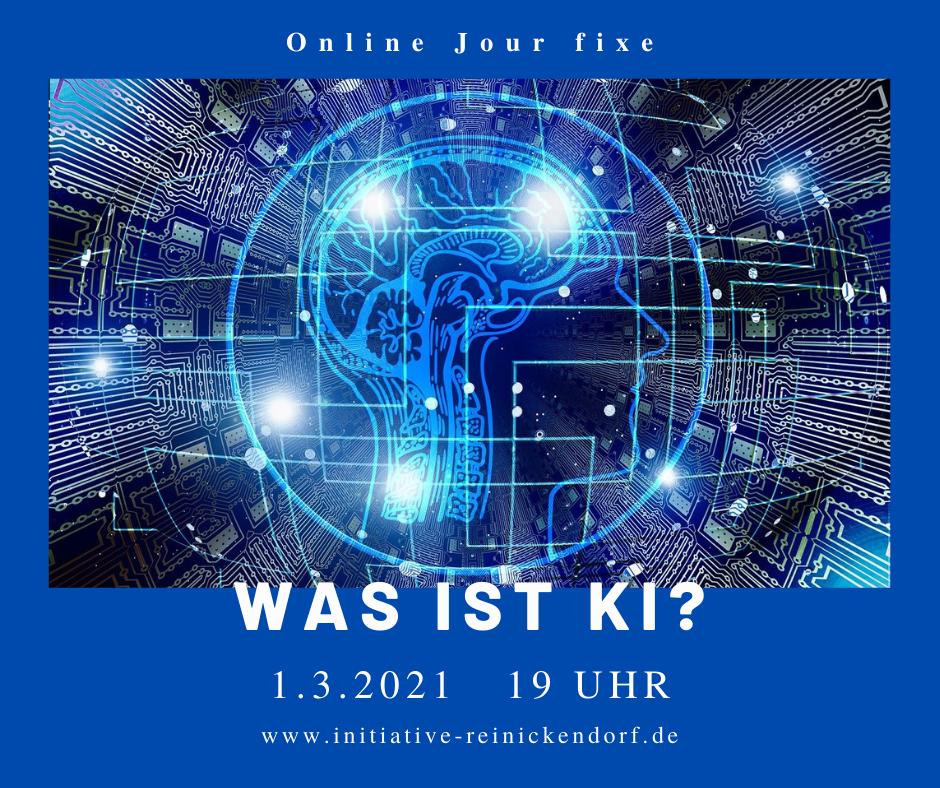 1.3.2021: Auf den Spuren von KI – Jour fixe online